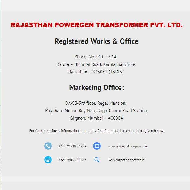 Contact-us-Rajasthan-Powergen