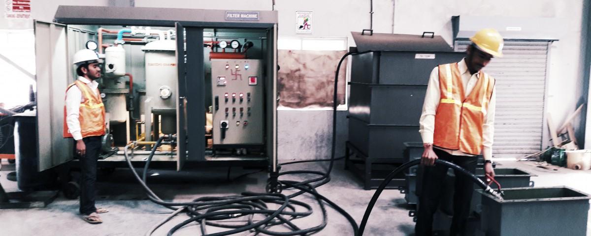 transformer-oil-filling
