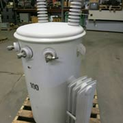 100 kva pole mounted transformer