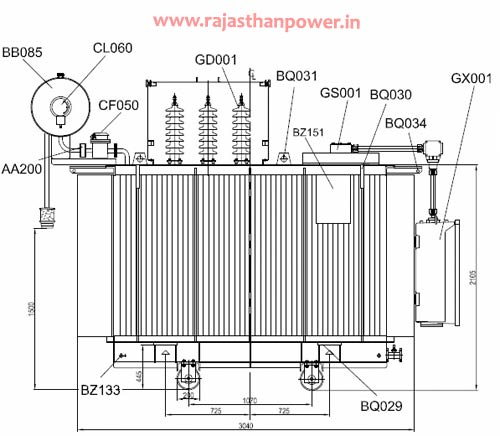 dry type transformer design