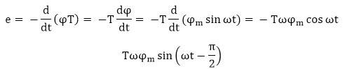 emf equation of single phase transformer
