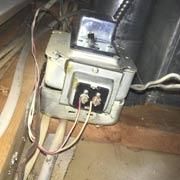 furnace doorbell transformer