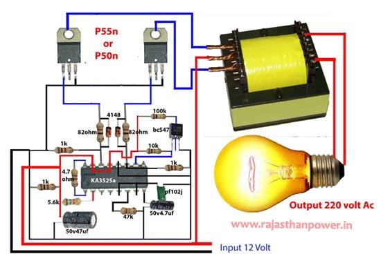 how to make inverter transformer