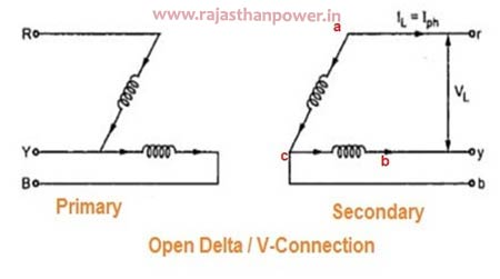 Open Delta (V-V) Connection
