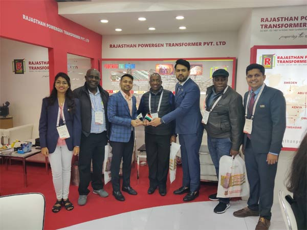 Team RPTPL with Team KPLC, Kenya